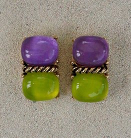 Jewelry VCExclusives: Sharon Purple over Lime