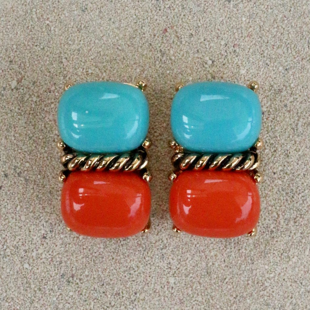 Jewelry VCExclusives: Sharon Turquoise over Coral