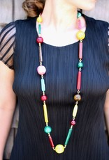 Jewelry Denaive: Long Multi Colored