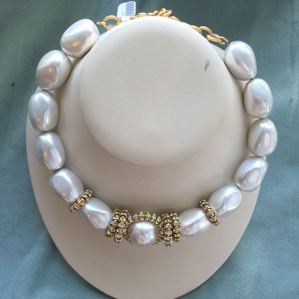 Jewelry FMontague: Juliete Pearl and CZs