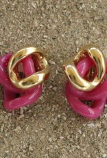Jewelry VCExclusives: Knots / Hot Pink & Gold