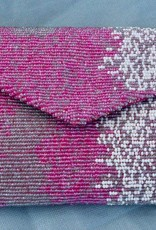 Handbags VCExlusives: Beaded Clutch / Pink