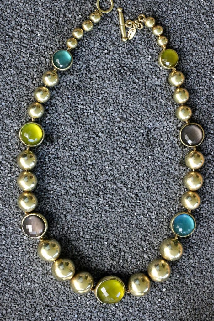Jewelry Vaubel:  Gold Vermeil with Semi Precious Stones