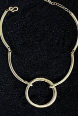 Jewelry KJLane: Loop Link Gold