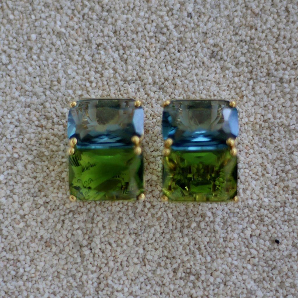 Jewelry Jardin: Blue & Green Double Stack