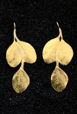 Jewelry KJLane: Gold Leaf Double prcd