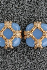 Jewelry VCExclusives: Zinnia Light Blue & Gold