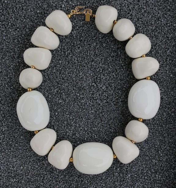 Jewelry KJLane: Pebbles White