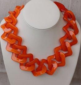 Jewelry VCExclusives: Flat Links Orange