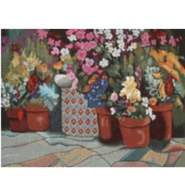 "DJ Designs Grouping of Flower Pots<br /> 9"" x 12"""