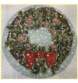 """Cooper Oaks Shell Wreath<br /> 14"""" Diameter"""