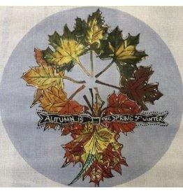 "Cooper Oaks Autumn Wreath<br /> 14"" Diameter"