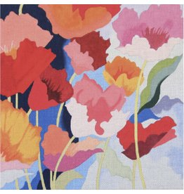 """Alice Peterson Poppies<br /> 14"""" x 14"""""""