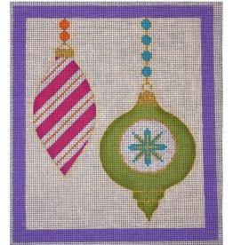 "Eye Candy Merry &amp; Bright - Purple Border<br /> 6"" x 7"""