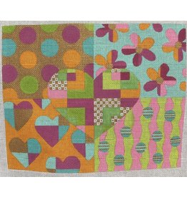 """Eye Candy Hearts &amp; Flowers<br /> 8.5"""" x 10.5"""""""