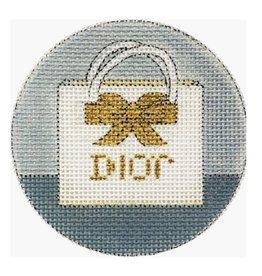 """Alice Peterson Dior Ornament<br /> 4"""" Round"""