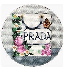 """Alice Peterson Prada Ornament<br /> 4"""" Round"""