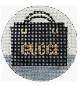 """Alice Peterson Guicci ornament<br /> 4"""" Round"""