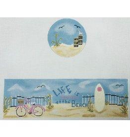 "Funda Scully Life at the Beach Hinged Box<br /> 10"" x 7"""
