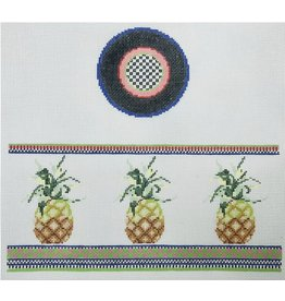 """Funda Scully Pineapple Hinged Box <br /> 10"""" x 7"""""""