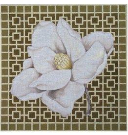 """Vallerie Magnolia<br /> 13.5"""" x 13.5"""""""