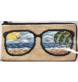 Alice Peterson Life's a Beach eyeglass case