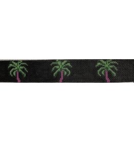 Voila! Palm Tree w/Black Background belt