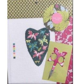 Shelly Tribbey Butterfly Scissor Case & Scissors