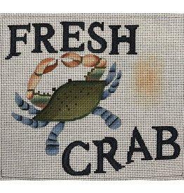 "Ewe &amp; Eye Fresh Crab<br /> 8"" x 7"""