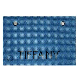 """Alice Peterson Tifany Shopping Bag Ornament<br /> 3 """"X $3.75"""""""