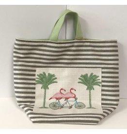 Atenti Hope Tote Bag - Flamingos