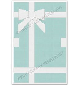 "Kimberly Ann That Blue Box - Tiffany - Make-up Bag<br /> 13.5"" x 8.5"""