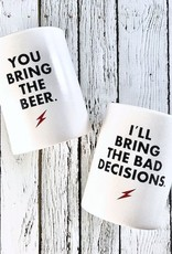 """You Bring The Beer"" Insulated Beverage Holder"