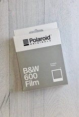600 B&W Polaroid Film White Frame