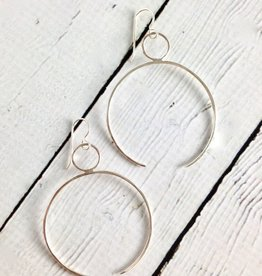 Handmade Sterling Silver Cleo Earrings