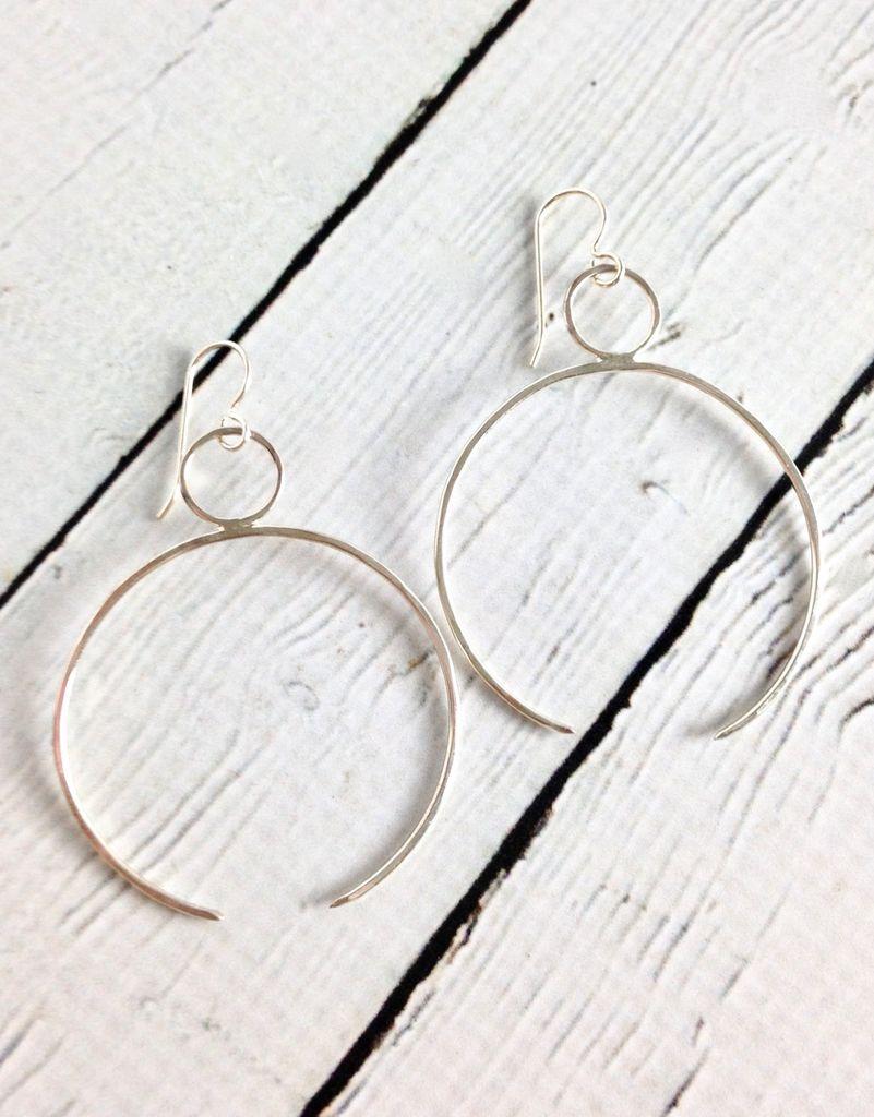 Handmade Sterling Silver Cleo Earrings