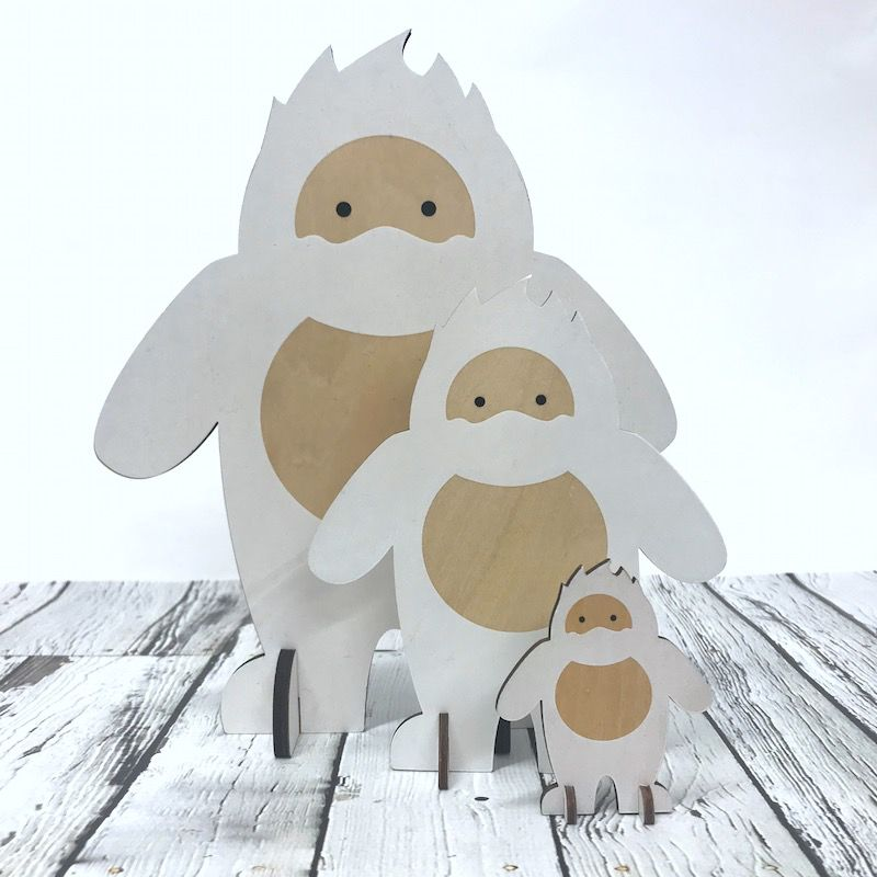 Small Harry the Abominable Snowman