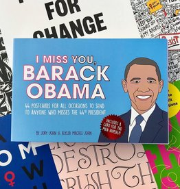 I Miss You, Barack Obama Postcards