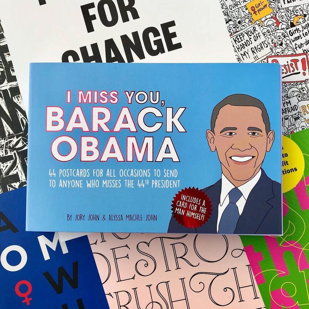 I Miss You, Barack Obama Postcards