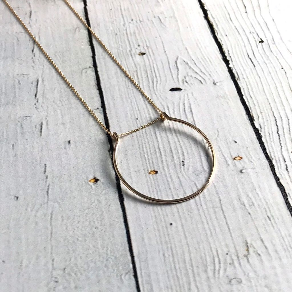 Gold Filled Gather Necklace