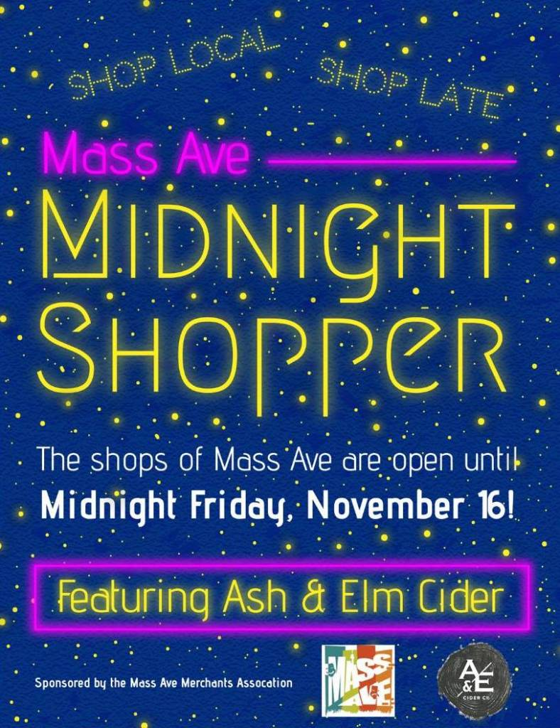 Midnight Shopper Friday November 16th!