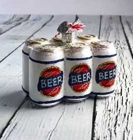 Old World Christmas 6 Pack of Beer Ornament