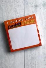 Dance Sticky Notes