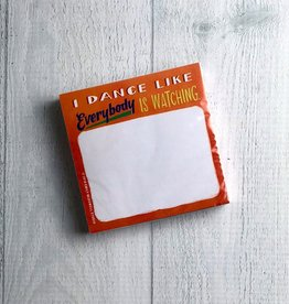 Dance Sticky Notes
