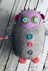 Dolores: a handmade, upcycled plush friend