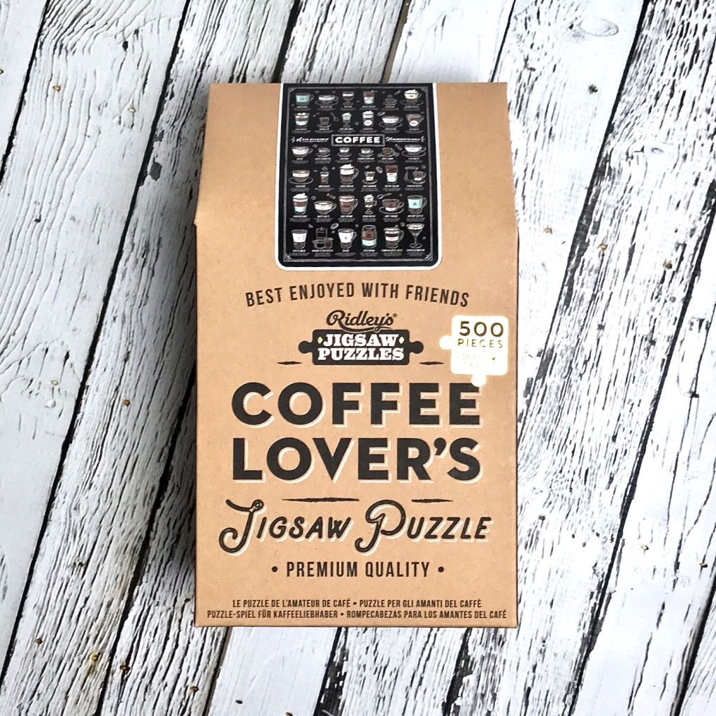 Coffee Lover's Jigsaw Puzzle 500 Pieces