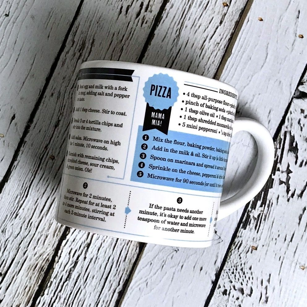 Recipe Set Grub Mugs