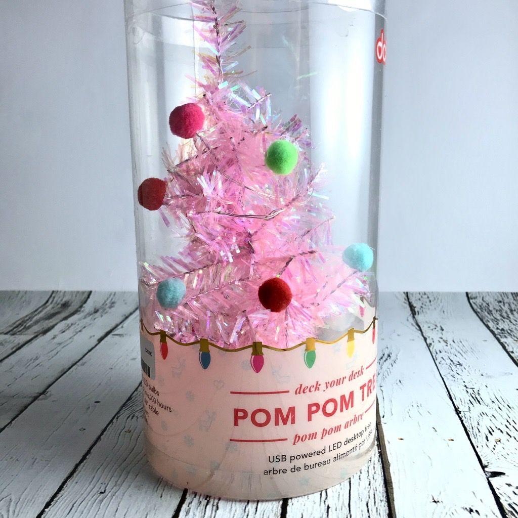 Pink Pom Pom Tree