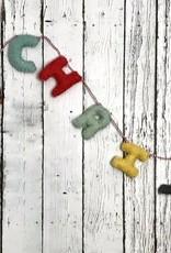 "48"" FELT ""MERRY CHRISTMAS"" GARLAND"