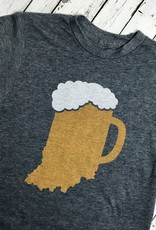 Indiana Beer Mug Long Sleeve Tee